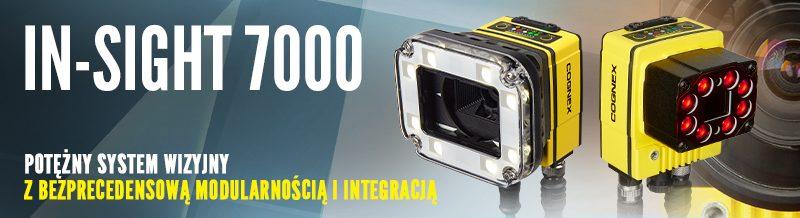 Systemy wizyjne serii In-Sight 7000 Gen.2