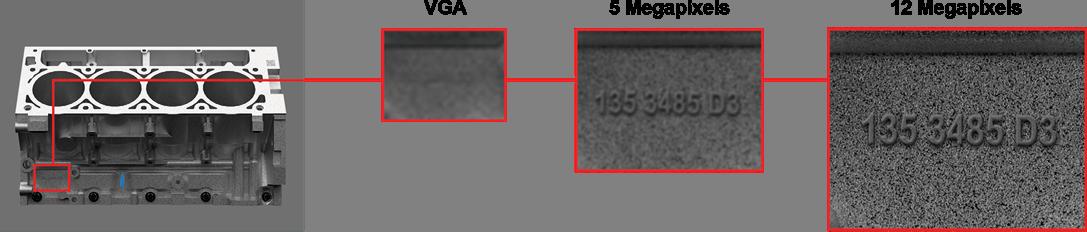 System wizyjny In-Sight 9912 - 12Mpx - przykłady