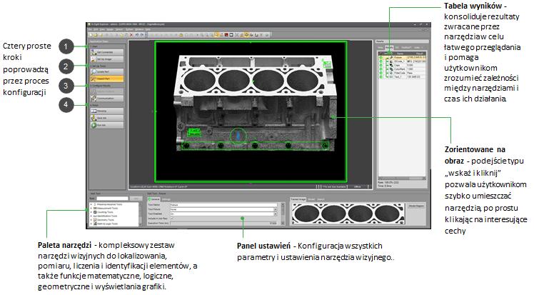 System wizyjny In-Sight 9912 - 12Mpx - Easybuilder