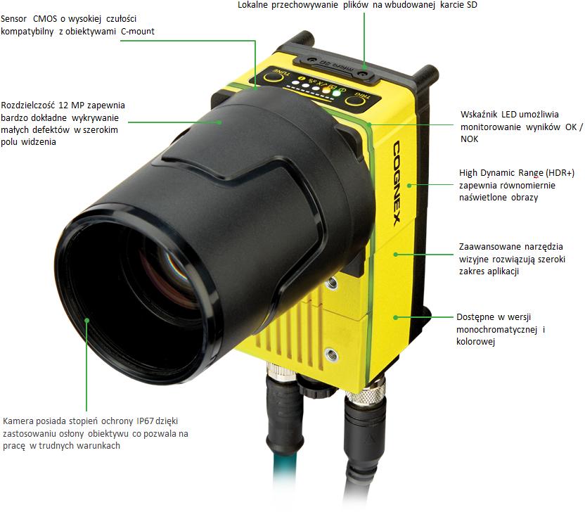 System wizyjny In-Sight 9912 - 12Mpx - opis